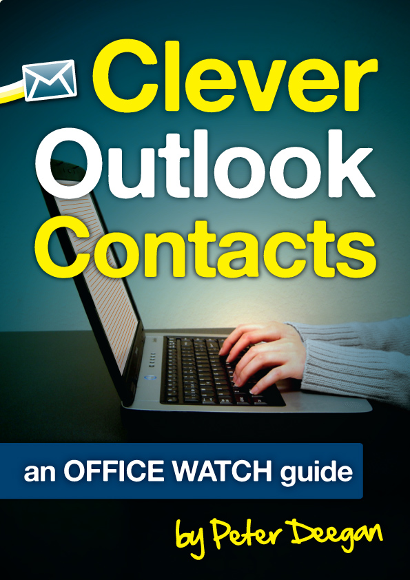 Clever Outlook Contacts image from Clever Outlook Contacts on Kindle at Office-Watch.com