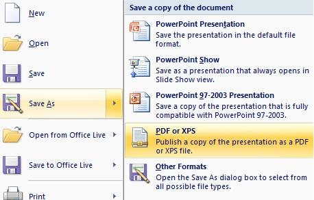 1334 Powerpoint save options (6) - Powerpoint save and publishing options