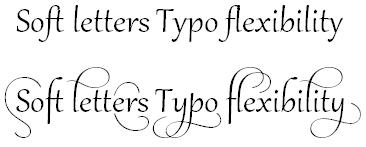 Word 2010 - Ligatures example.jpg image from OpenType Ligatures in Office 2010 at Office-Watch.com