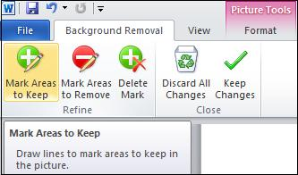 1471 Areas to keep - Background Removal Tool for pictures in Office
