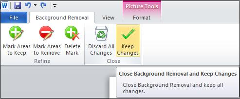 Save changes.jpg image from Background Removal Tool in Office 2010 at Office-Watch.com