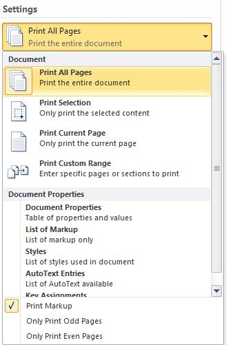 Print pages.jpg image from Print pane in Office 2010 at Office-Watch.com