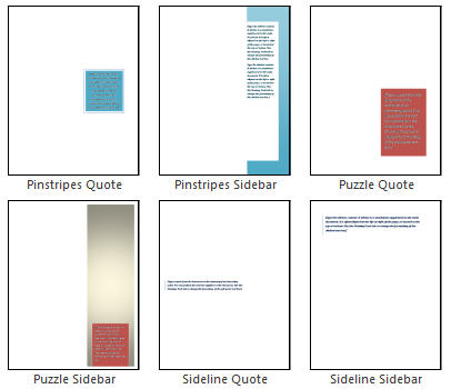 Word 2010 - Text Box Gallery 6.jpg image from Word