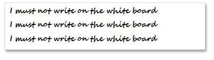 1607 Word Text Box Whiteboard - Chalkboard effect in Word