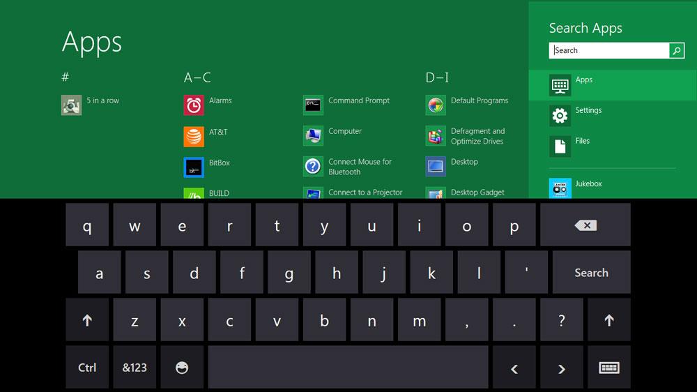 1610 Windows 8 screenshot keyboard web - Windows 8 and Microsoft Office