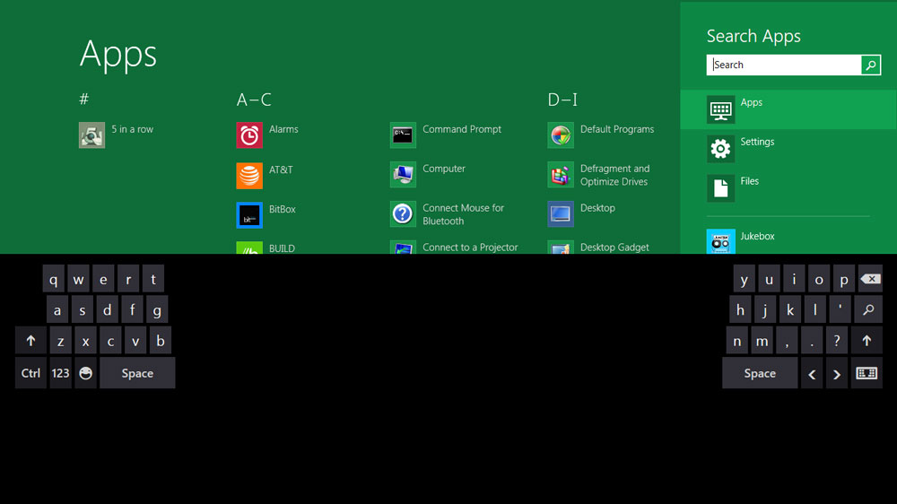 1610 Windows 8 screenshot thumbKeyboard web - Windows 8 and Microsoft Office