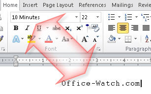 Word -- Font displayed doesnt match named font.jpg image from Font Embedding in Microsoft Office at Office-Watch.com