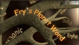 1615 Stephen Frys Planet Word titles with Comic Sans - Stephen Fry and Comic Sans