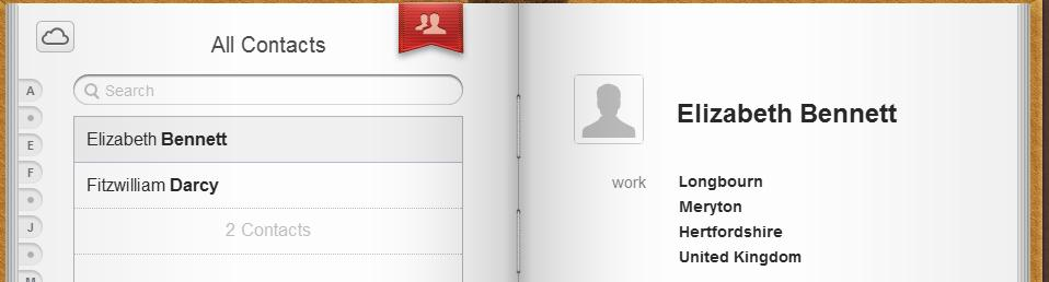 1619 iCloud contacts in web interface - iCloud and Microsoft Outlook