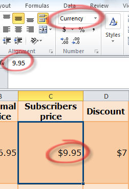 1621 Excel   dollar value in web table changed to number and currency format - Getting data from Internet into Excel