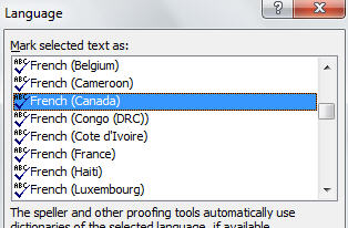 Word 2010 - French language options.jpg image from Language support in Microsoft Office at Office-Watch.com