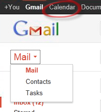 Google - accessing calendar, contacts and tasks.jpg image from Syncing Google services with Outlook at Office-Watch.com