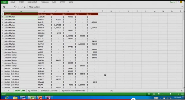 1667 Office 15 Excel example - Office 15 screen shots