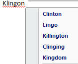 Word 2007 - Klingon equals Clinton.jpg image from Klingon = Clinton at Office-Watch.com