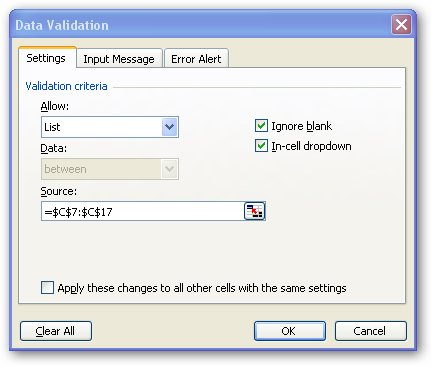 Data_Validation.jpg image from Match and Index lookup in Excel at Office-Watch.com