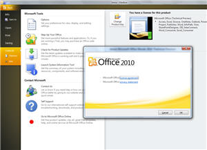 838 Office 2010 screen shot   Technical Preview   small - Office 2010 new images and more questions