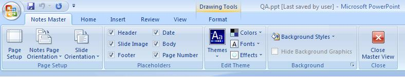 868 notesmaster1 - PowerPoint - Notes options and views