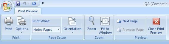 868 notesprint3 - PowerPoint - Notes options and views