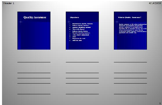 PowerPoint 2007 - Handouts - sample 3 slides per page.jpg image from PowerPoint Handouts - making and printing at Office-Watch.com