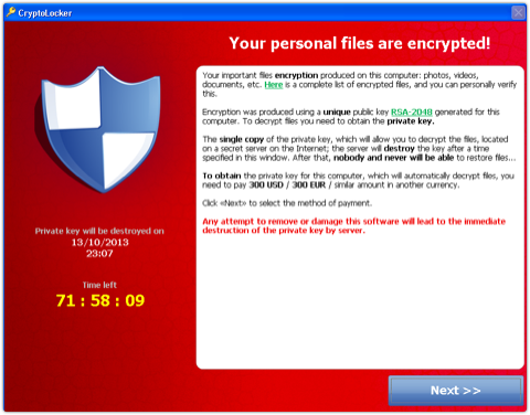 CryptoLocker%201 - Outlook 'settings' file lead to ransom for your data