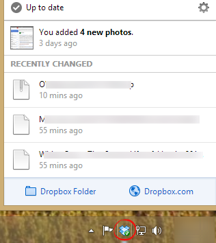 Dropbox events image from Dropbox - looking at changes in files or folders at Office-Watch.com