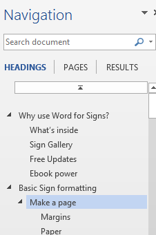 Navigation%20in%20Word%202 - Navigating a Word document
