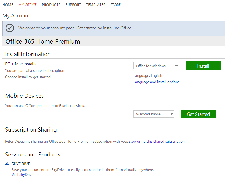 http://img.office-watch.com/ow/Office%20365%20sharing%204.png image from Sharing your Office 365 / Office 2013 subscription at Office-Watch.com