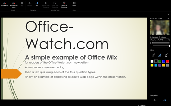PPT%20Mix%203 - Office Mix in depth