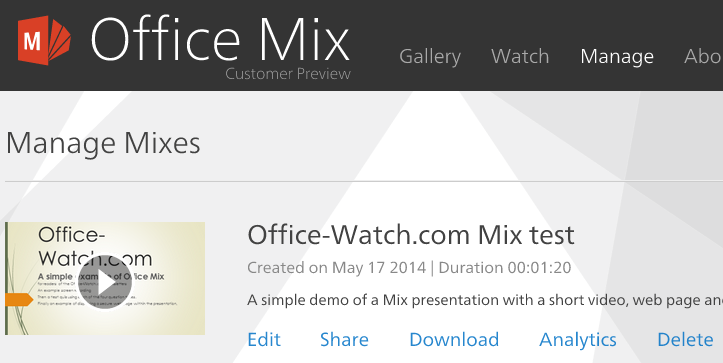 PPT%20Mix%207 - Office Mix in depth