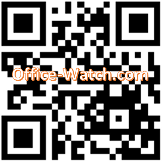 QR Code with logo image from QR Codes in Word at Office-Watch.com