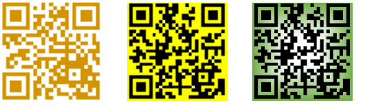QR Codes colorized image from QR Codes in Word at Office-Watch.com