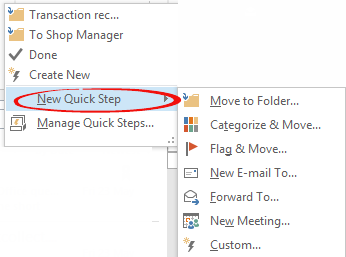 http://img.office-watch.com/ow/Quick%20Steps%202.png image from Outlook Quick Steps in depth at Office-Watch.com