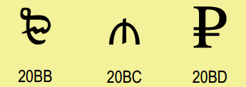 http://img.office-watch.com/ow/Unicode 7 - 1.png image from More characters for Unicode at Office-Watch.com