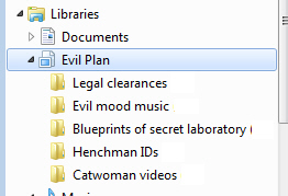 Windows%207%20 %20Evil%20Plan - Libraries by topic