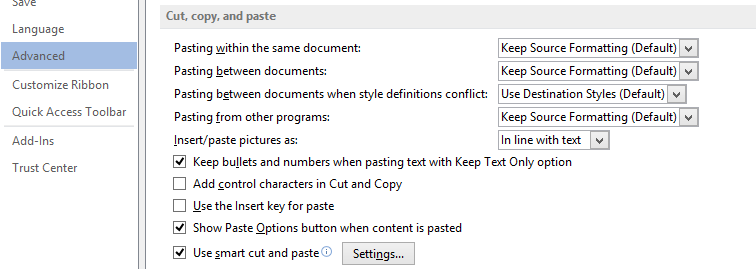 Word paste options image from Paste in Microsoft Word at Office-Watch.com
