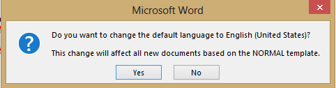 Word - change default language warning image from Language and Dictionaries in MS Word at Office-Watch.com
