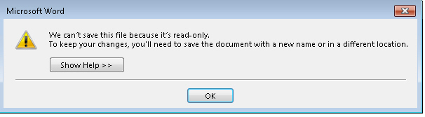 Word 2013 cant save PDF over the original image from PDF editing in Word 2013 at Office-Watch.com