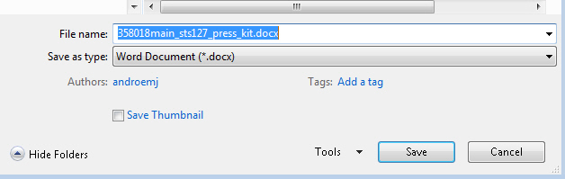 Word 2013 saves a PDF as docx as default image from PDF editing in Word 2013 at Office-Watch.com