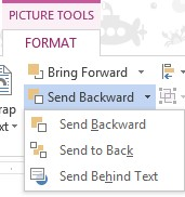Word image layout - send to back image from Simple image overlays in Word at Office-Watch.com