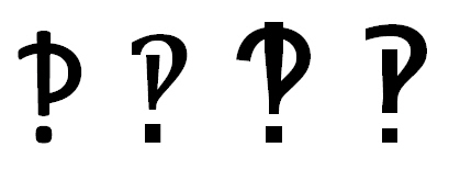 Word interrobang examples image from Interrobang at Office-Watch.com