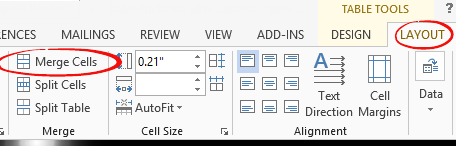 Word%20tables%20 %20Merge%20Cells%203 - Merge or Split cells in Word tables