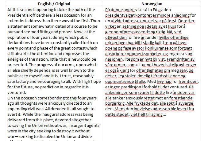 Word%20translate%20falls%20short%20of%20selection - Side-by-Side Translation in Word