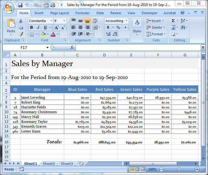 AW%201213 G - Exporting Access Data to Excel, Part 1